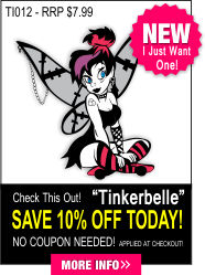 Tinkerbelle Decal