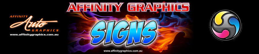 Affinity Graphics, Auto Graphix, Vinyl Decals & Signs