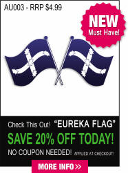 Aussie Eureka Flag Decal