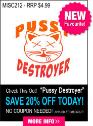 MISC 212 - Pussy Destroyer