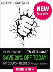 Wall Smash Decal