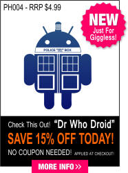 PH004 - Dr Who Droid