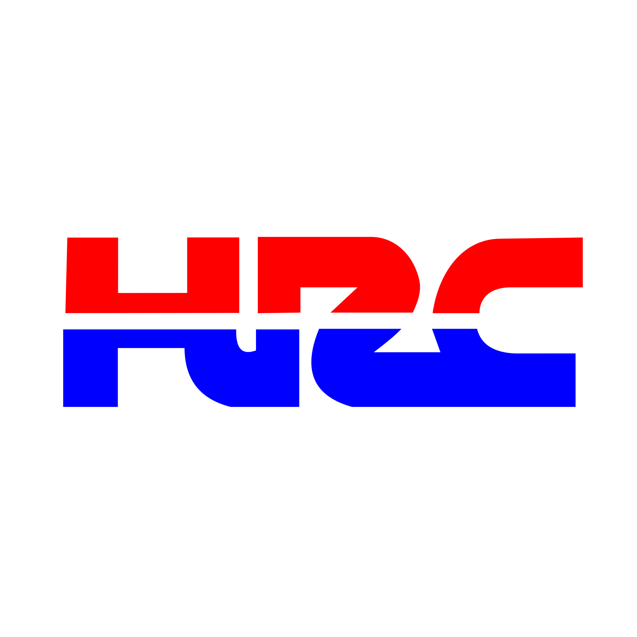 HRC Logo Vinyl Decal, Graphic, Bumper Sticker.