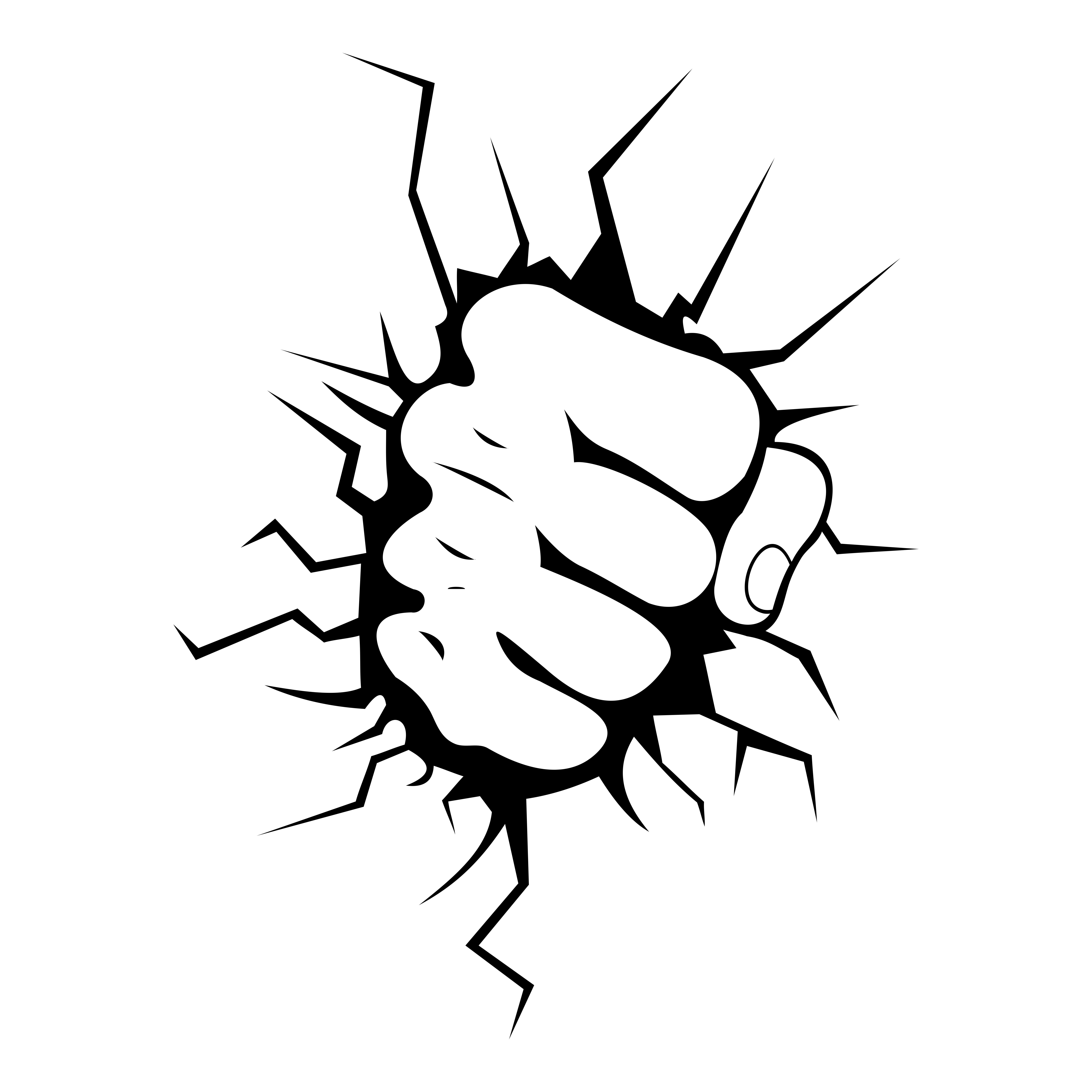hulk hands coloring pages   Fist Vinyl Decal, Graphic, Bumper Sticker.